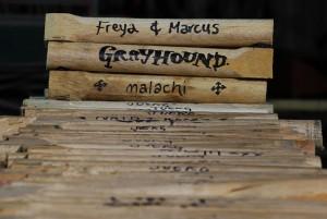 Treenails for Marcus, Freya & Malachi