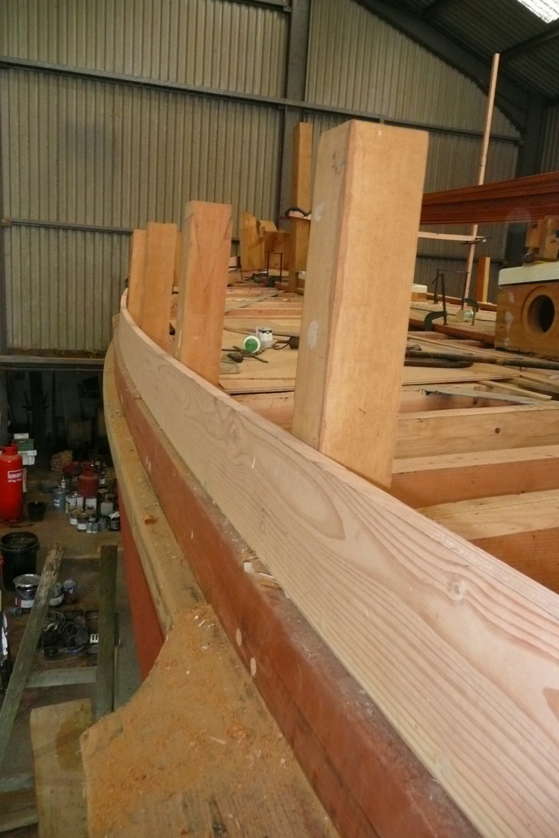first of the bulwark planks