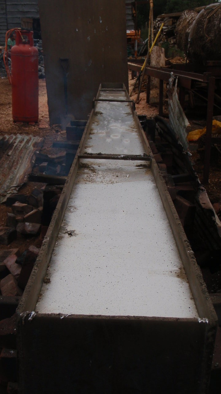 Making the keel