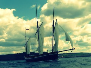Adventure traditional sailing Cornwall