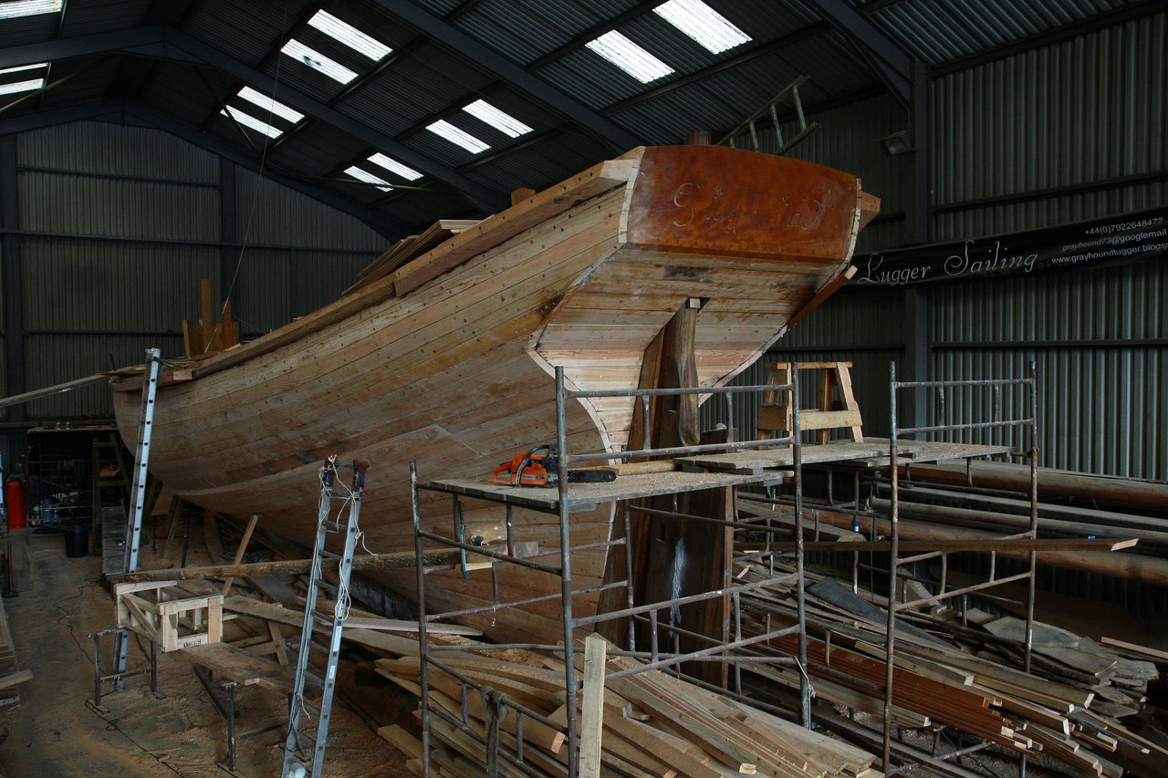 faired hull